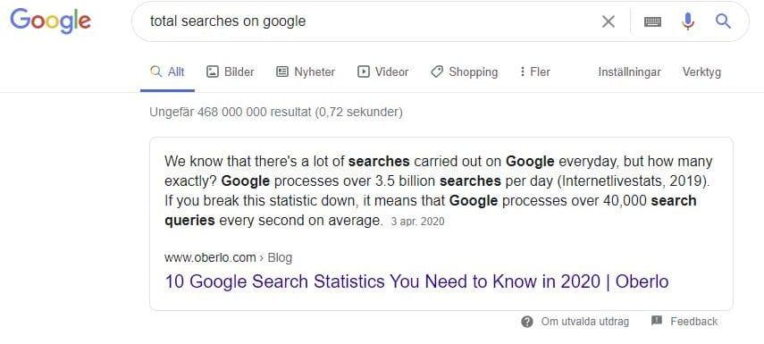 sökmotor google